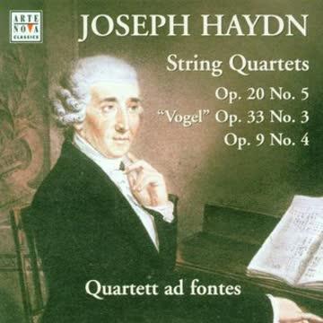Josef Haydn - 3 Streichquartette aus op. 9, 20 und 33