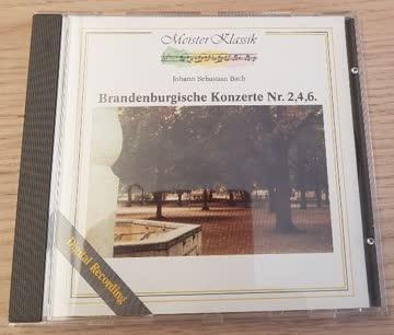 Meister Klassik - Bach - Bandenburgische Konzerte Nr. 2,4,6