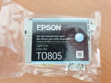 Epson Tintenpatrone TO805 Light Cyan