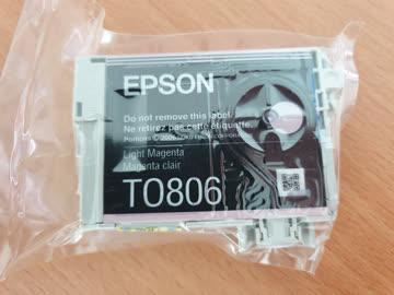 Epson Tintenpatrone TO806 Light Magenta