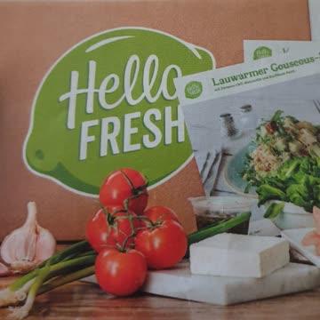 50.- Gutschein für deine 1. HelloFresh Kochbox