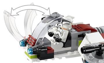 5x LEGO Star Wars 75206 Jedi und Clone Troopers + 1 LNEU OVP
