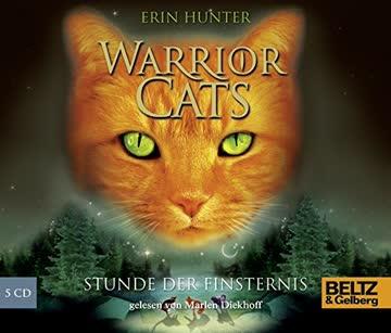 Warrior Cats. Stunde der Finsternis: I, Folge 6, gelesen von Marlen Diekhoff, 5 CDs in der Multibox, 6 Std. 30 Min.