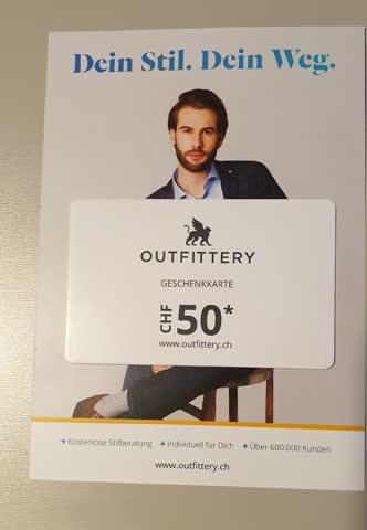 Outfittery Geschenkkarte