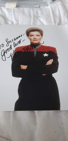 Originalautogramm aus Star Trek Voyager