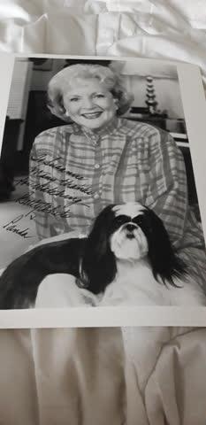 Originalautogramm von Betty White