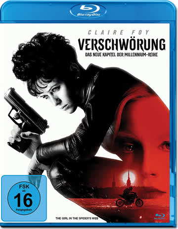 Verschwörung The Girl in the Spiders Web Blu-ray