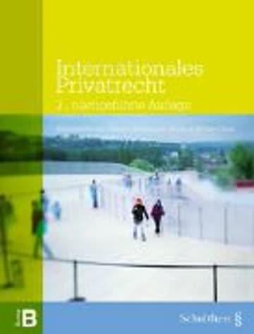 Internationales Privatrecht (litera B)