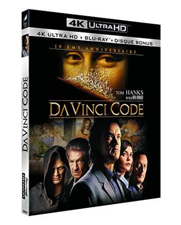 Da Vinci Code [4K Ultra HD + 2 Blu-ray] [FR Import]