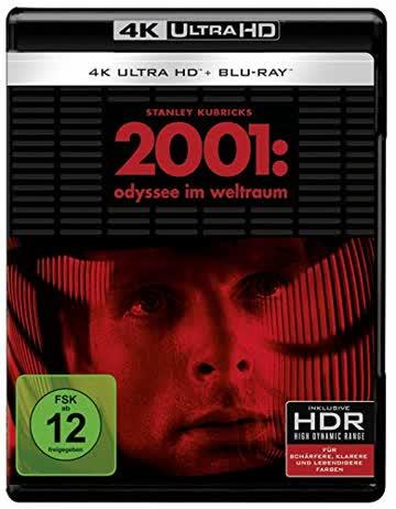 2001: Odyssee im Weltraum (4K Ultra HD +2  Blu-ray)