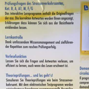 Fahrschule - Fragen Theorieprüfung
