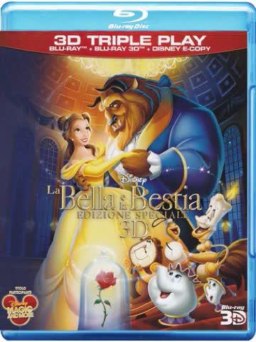 Beauty And The Beast (La Bella e la Bestia) [Blu-ray 3D + Blu-ray] [Italian Import]
