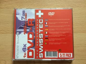 DVD-R 4.7 GB 120 min Video Fabrikneu