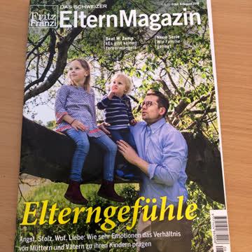 Das Schweizer Elternmagazin Juli/August