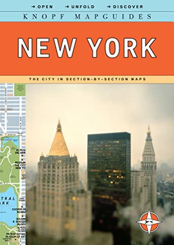 Knopf MapGuide New York (Knopf Mapguides)