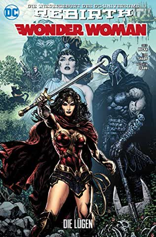 Wonder Woman 01 (2. Serie): Die Lügen