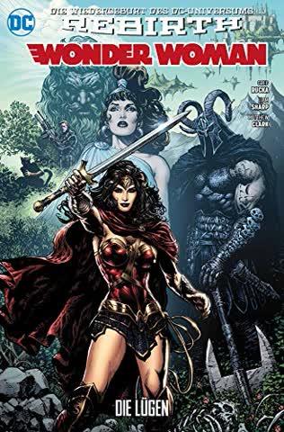 Wonder Woman 01 (2. Serie): Die Lügen
