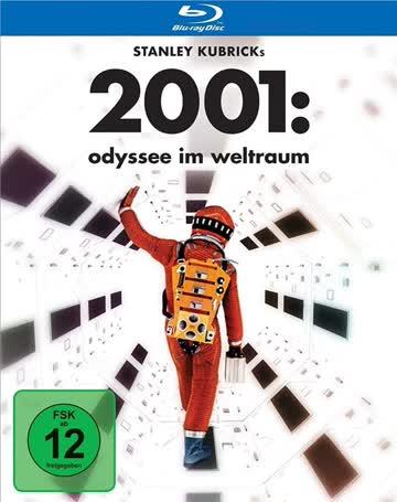 2001: Odyssee im Weltraum Blu-ray Deutsch (nur Disc)
