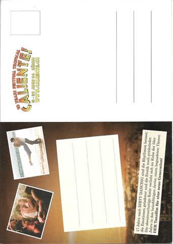 Karte - Postkarte Dirty Dancing 2