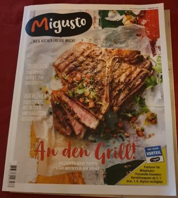Migusto Zeitschrift Ausgabe Juli/August 2019
