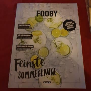 Fooby Zeitschrift Ausgabe Sommer 2019