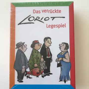 Inkognito Loriot Legespiel / Gedächtnisspiel