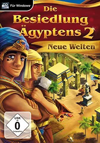 Die Besiedlung Ägyptens 2 - Neue Welten (USK ohne Altersbeschränkung) PC