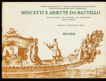 Minuetti e Ariette da Battello