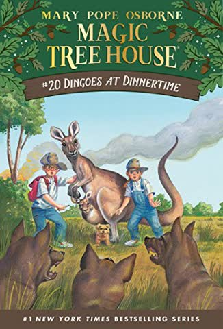Dingoes at Dinnertime (Magic Tree House (R), Band 20)