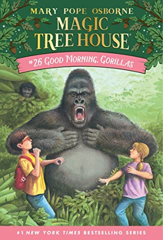 Good Morning, Gorillas (Magic Tree House #26)
