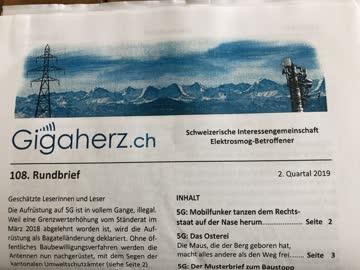 Neuster Newsletter von Gigaherz