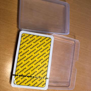 Jasskarten, verschweisst, in Schachtel