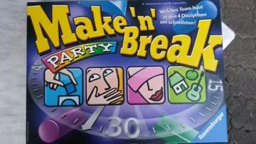 make,n.break