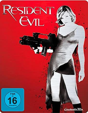 RESIDENT EVIL (Blu-ray Disc, Steelbook) Limited Edition