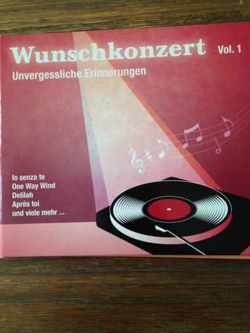 Wunschkonzert Vol,1 - Unvergessliche Erinnerungen
