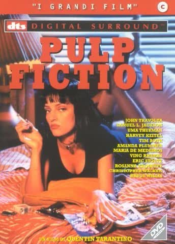 pulp fiction - dts dvd Italian Import