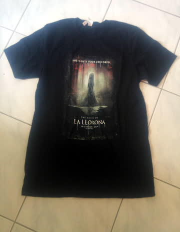 1 T-Shirt / Grösse M / The Curse of La Llorona