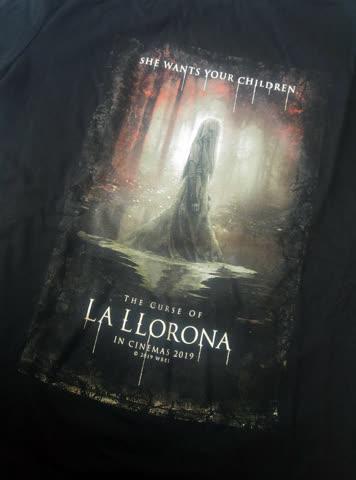 1 T-Shirt / Grösse M / The Curse of La Llorona
