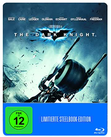 The Dark Knight (Steelbook) (exklusiv bei Amazon.de) [Blu-ray] [Limited Edition]
