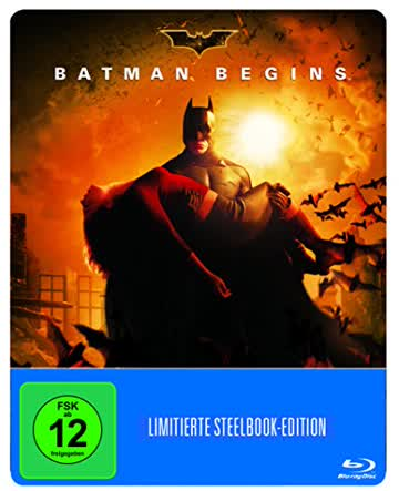 Batman Begins (Steelbook) (exklusiv bei Amazon.de) [Blu-ray] [Limited Edition]