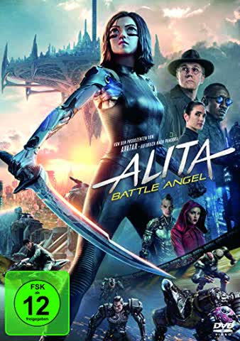 Alita - Battle Angel [DVD] [2019]