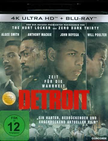 Detroit [4K Ultra HD + Blu-ray]