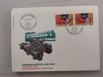 1985 Sonderbeleg Schweiz