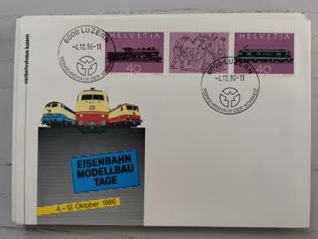 1986 Sonderbeleg Schweiz