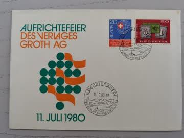 1980 Sonderbeleg Schweiz