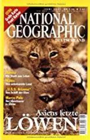 National Geographic - Asiens letze Löwen