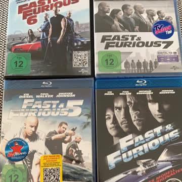 Fast&Furious 4-7