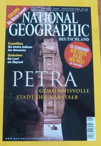 National Geographic – Petra;Geheimnisvolle Stadt d. Nabatäer