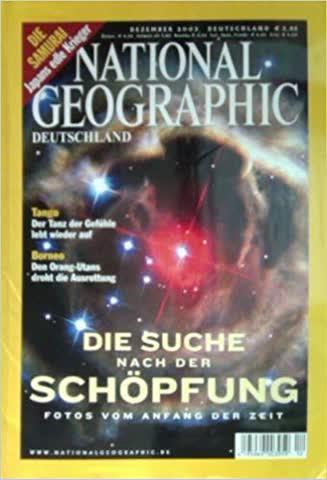 National Geographic – Die Suche nach der Schöpfung