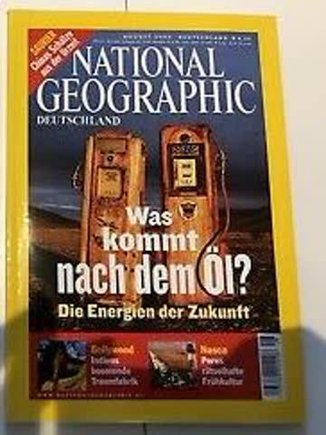 National Geographic – Was kommt nach dem Öl ?
